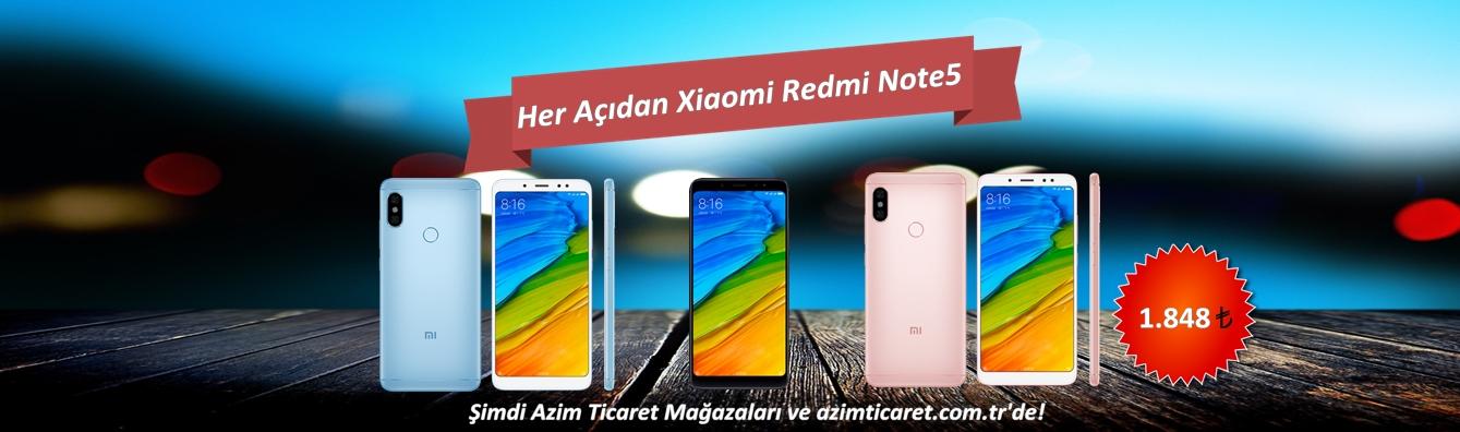 XİAOMİ REDMİ NOTE5