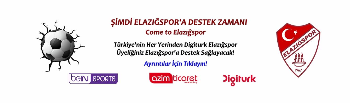 Elazığspor'a Destek!